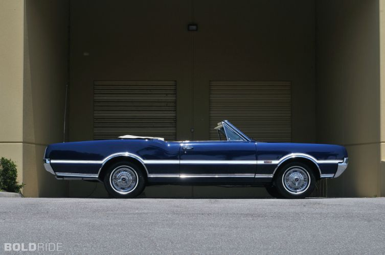 1967 Oldsmobile 442 Convertible classic muscle d wallpaper