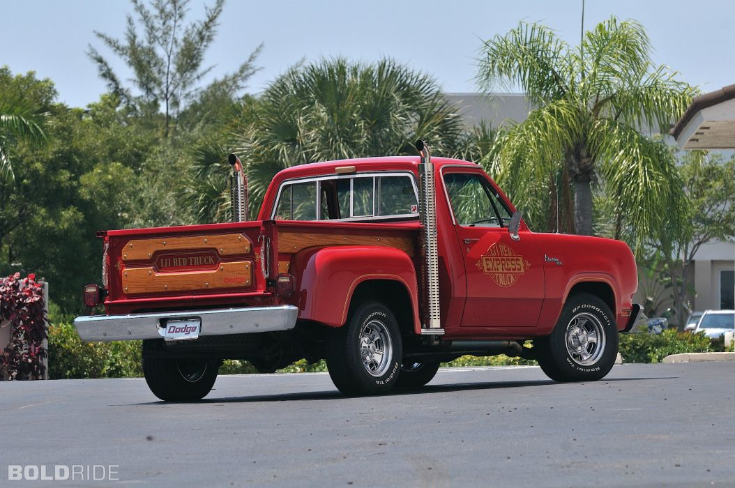 1979 Dodge Lil-Red Express Pickup classic truck muscle   g wallpaper