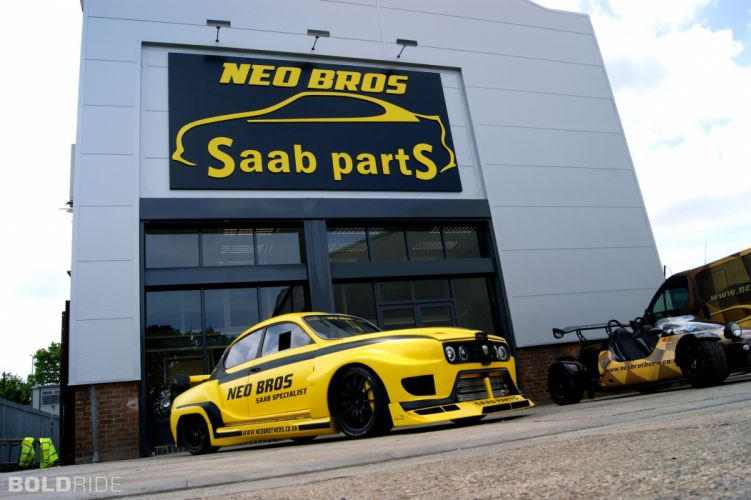 2013 Neo Brothers SAAB 96SS tuning d wallpaper
