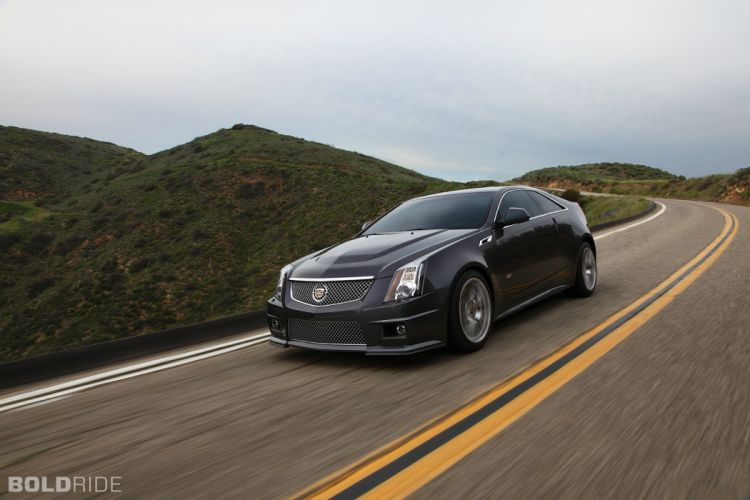 2014 Cadillac CTS-V Coupe muscle sportcar f wallpaper