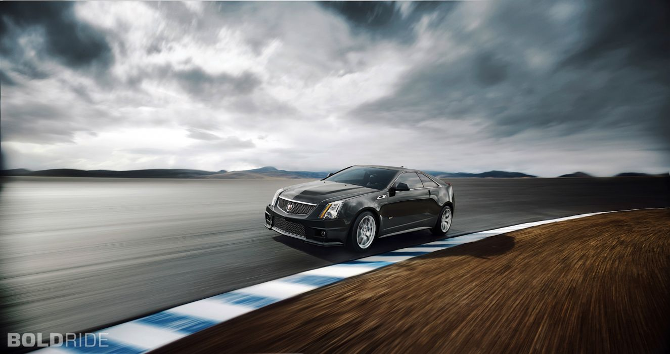2014 Cadillac CTS-V Coupe muscle sportcar   d wallpaper