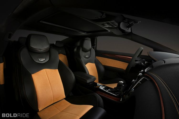 2014 Cadillac CTS-V Coupe muscle sportcar interior wallpaper