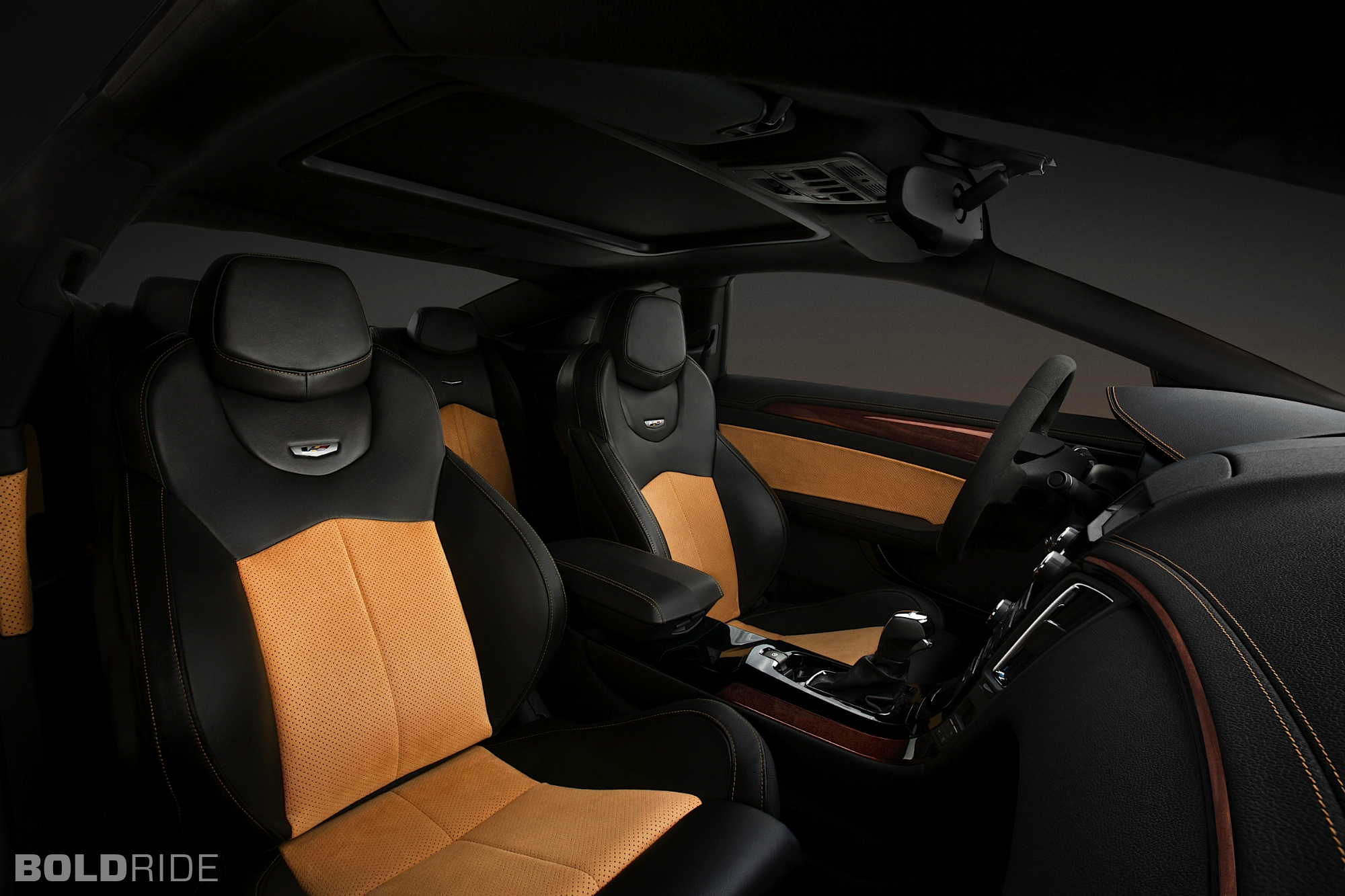 2014 Cadillac Cts V Coupe Muscle Sportcar Interior Wallpaper