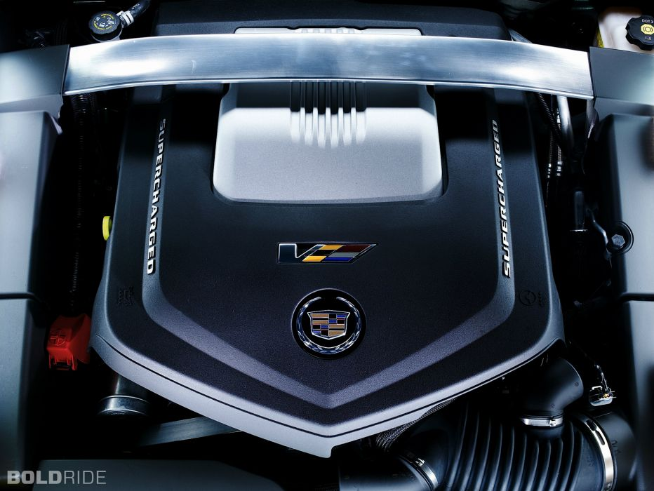 2014 Cadillac CTS-V Coupe muscle sportcar engine engines wallpaper