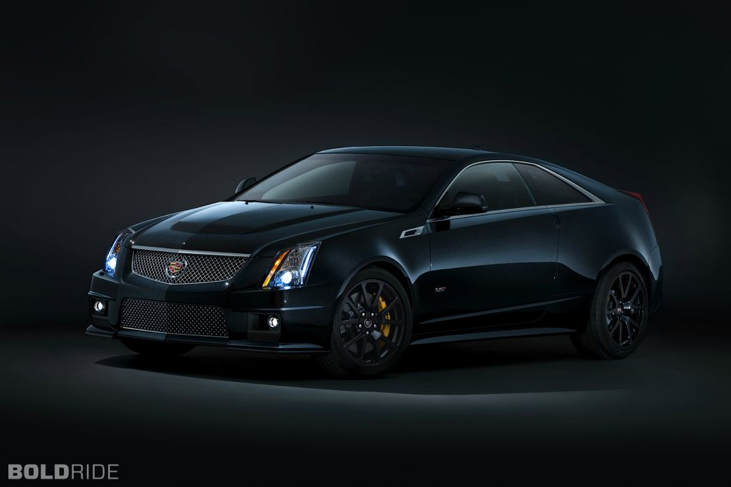 2014 Cadillac CTS-V Coupe muscle sportcar wallpaper