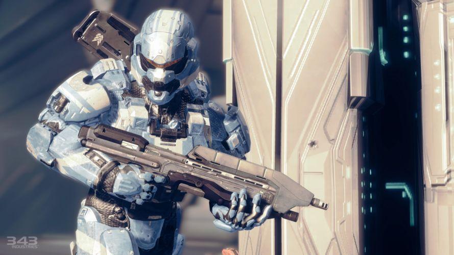 Halo Destiny warrior warriors weapon weapons mask helmet rifle sci-fi f wallpaper