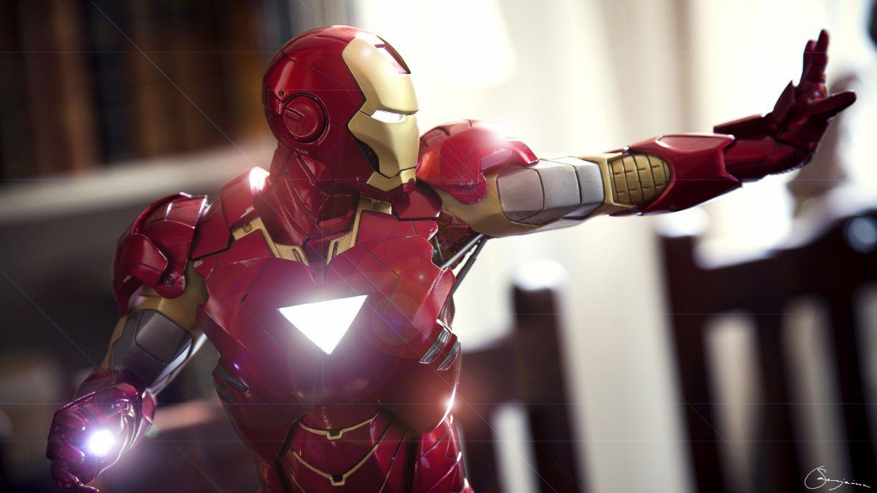 Iron Man Marvel Superhero Comic Comics Movie Movies