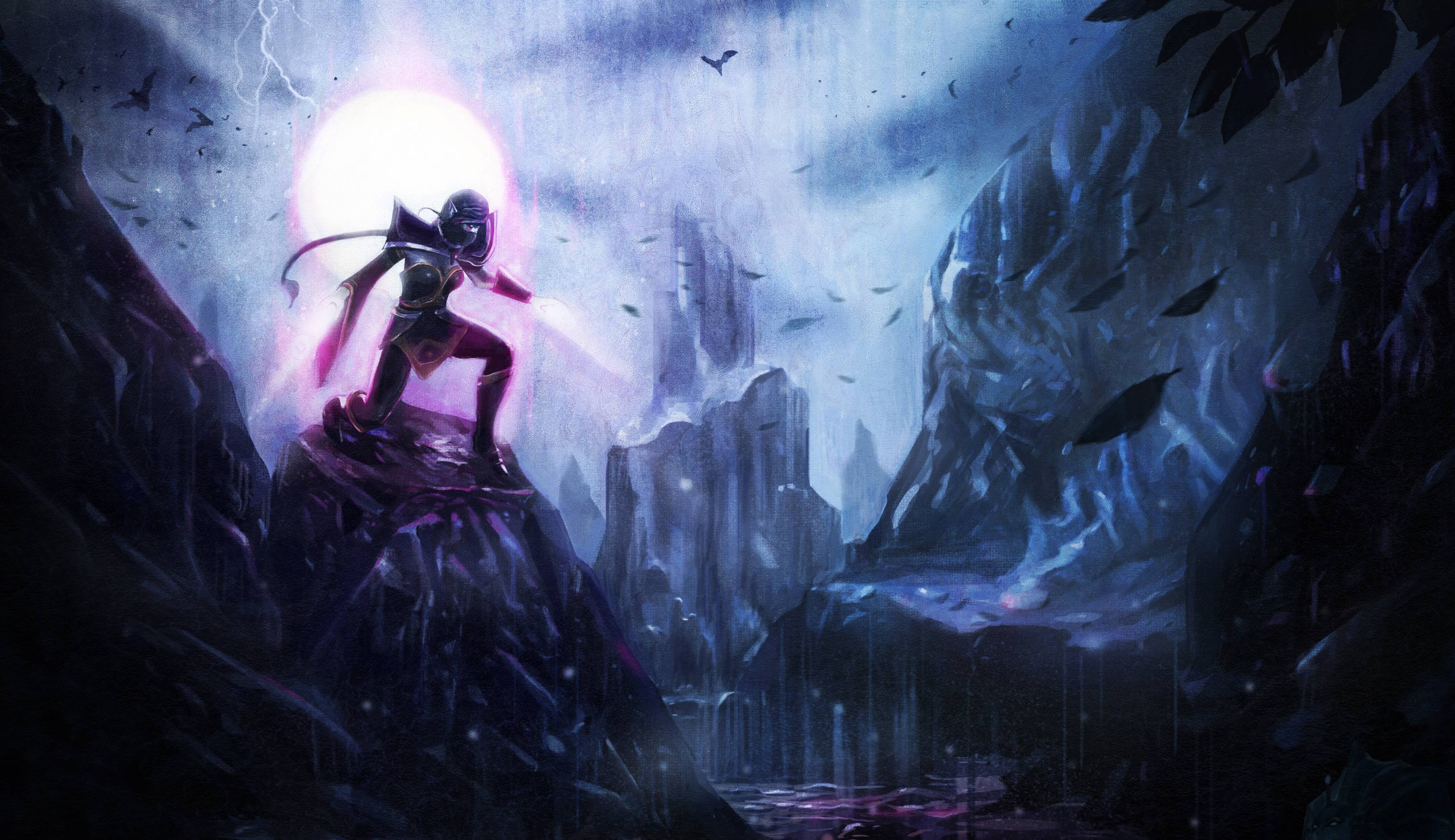 League Of Legends Templar Assassin Wallpaper 3259x1883