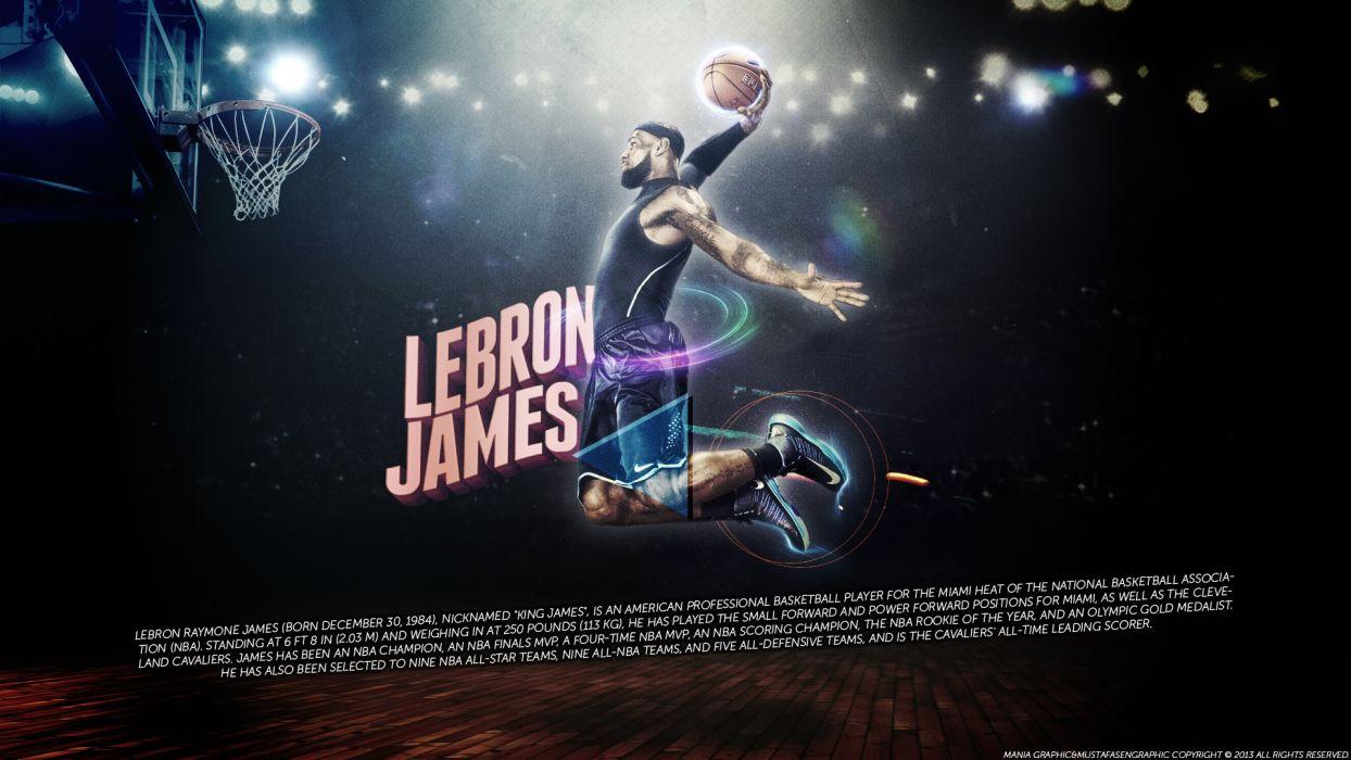 LeBron James Basketball nba wallpaper