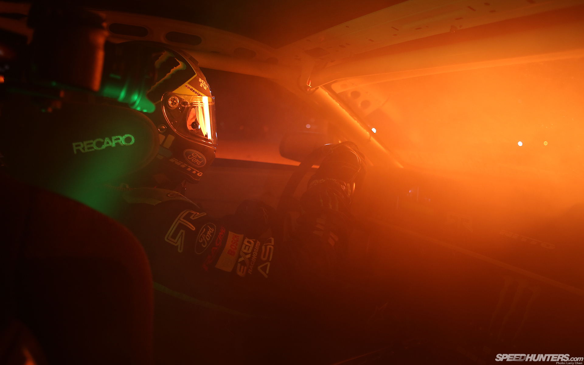 Mustang Interior Race Car Light Ford Tuning Drift Glow Helmet Racing Wallpaper  1920x1200