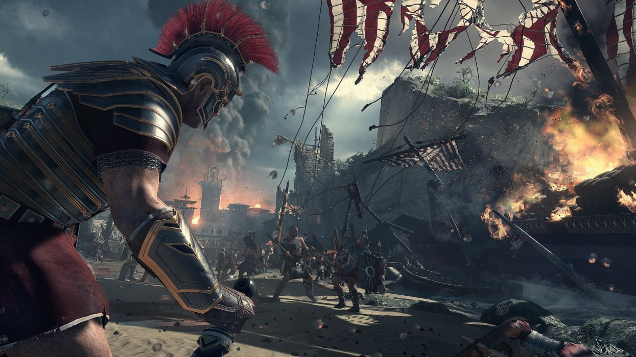 Ryse Son of Rome Soldier warrior warriors battle fantasy wallpaper