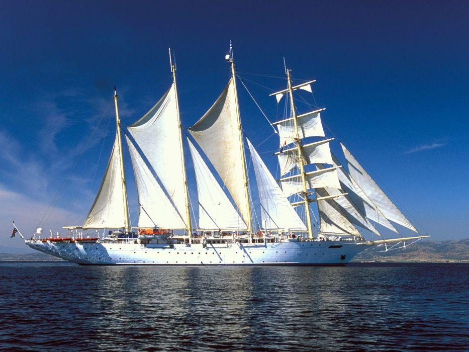 Sailing Boat wallpaper