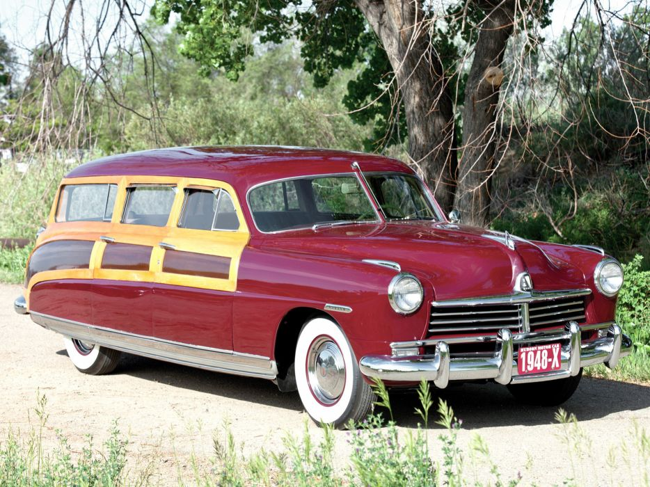 1948 Hudson Commodore StationWagon retro wallpaper