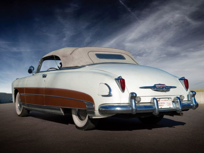 1950 Hudson Commodore Six Convertible retro d wallpaper