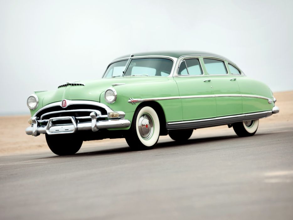 1953 Hudson Hornet Sedan retro       d wallpaper
