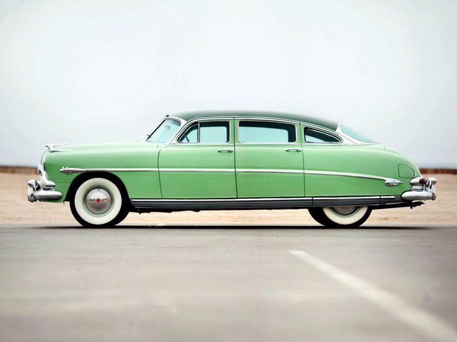 1953 Hudson Hornet Sedan retro    d wallpaper