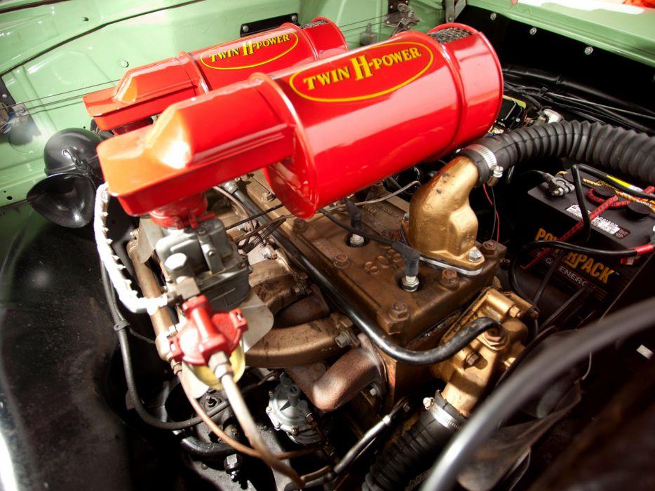 1953 Hudson Hornet Sedan retro engine engines wallpaper