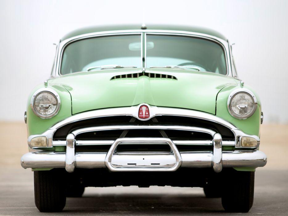 1953 Hudson Hornet Sedan retro wallpaper