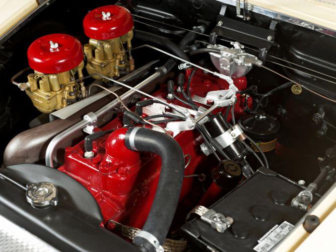 1954 Hudson Italia retro engine engines wallpaper