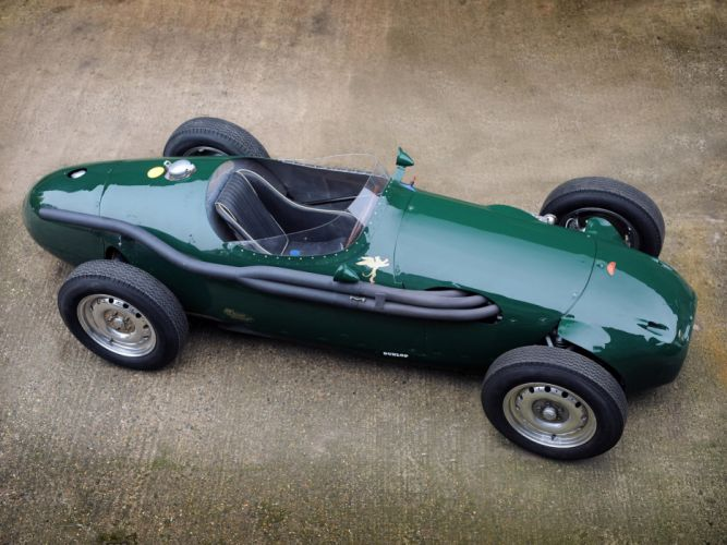 1955 Connaught B-type retro race racing r wallpaper