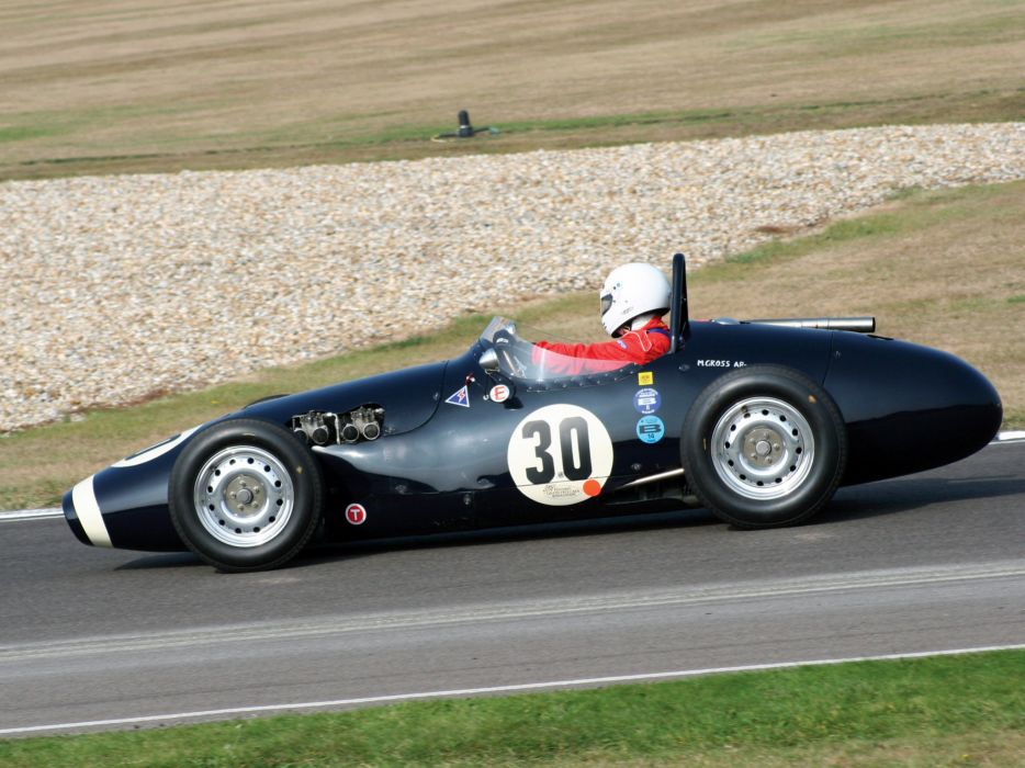 1955 Connaught B-type retro race racing    d wallpaper