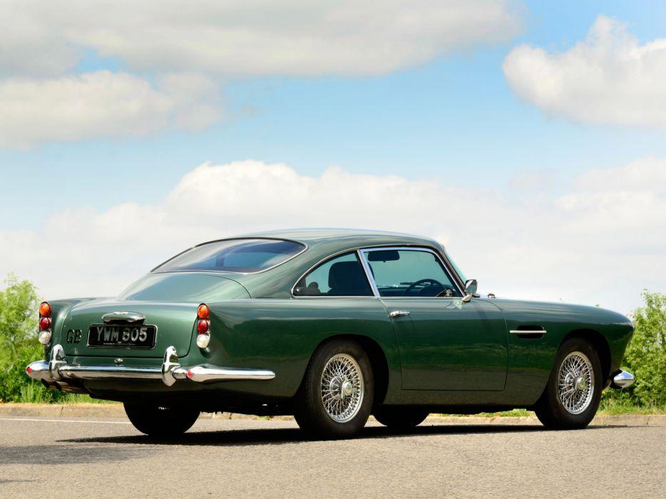 1964 Aston Martin DB4 Series-IV classic          d wallpaper