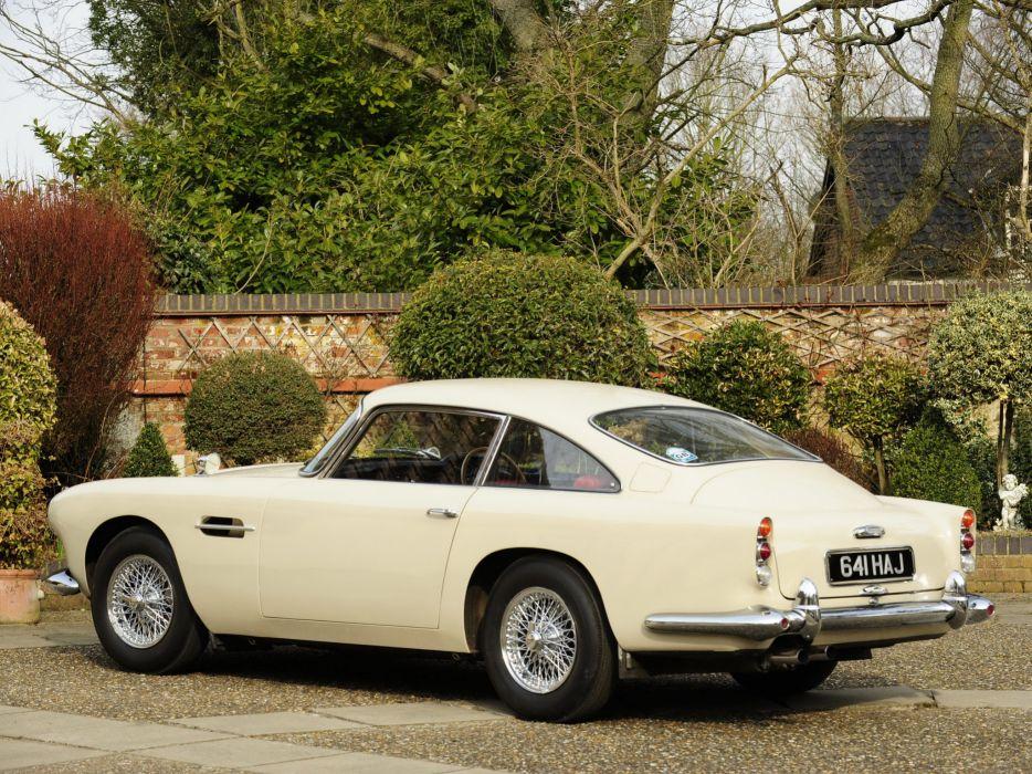 1964 Aston Martin DB4 Series-IV classic      sa wallpaper