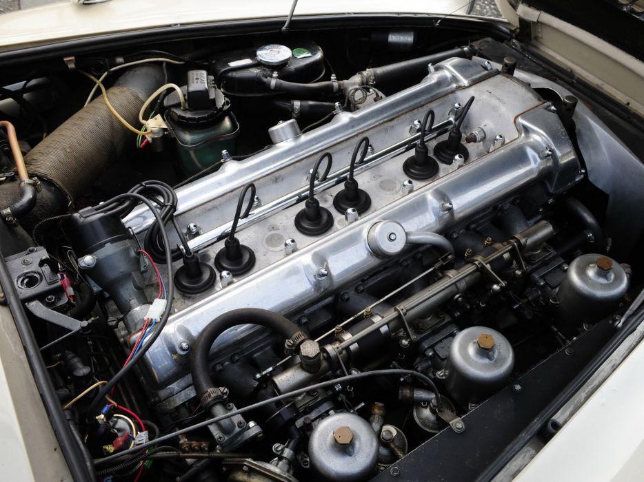 1964 Aston Martin DB4 Series-IV classic engine engines  d wallpaper