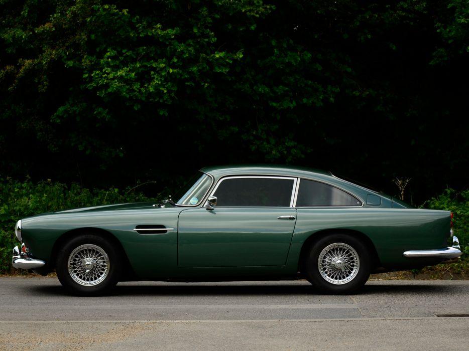 1964 Aston Martin DB4 Series-IV classic    c wallpaper