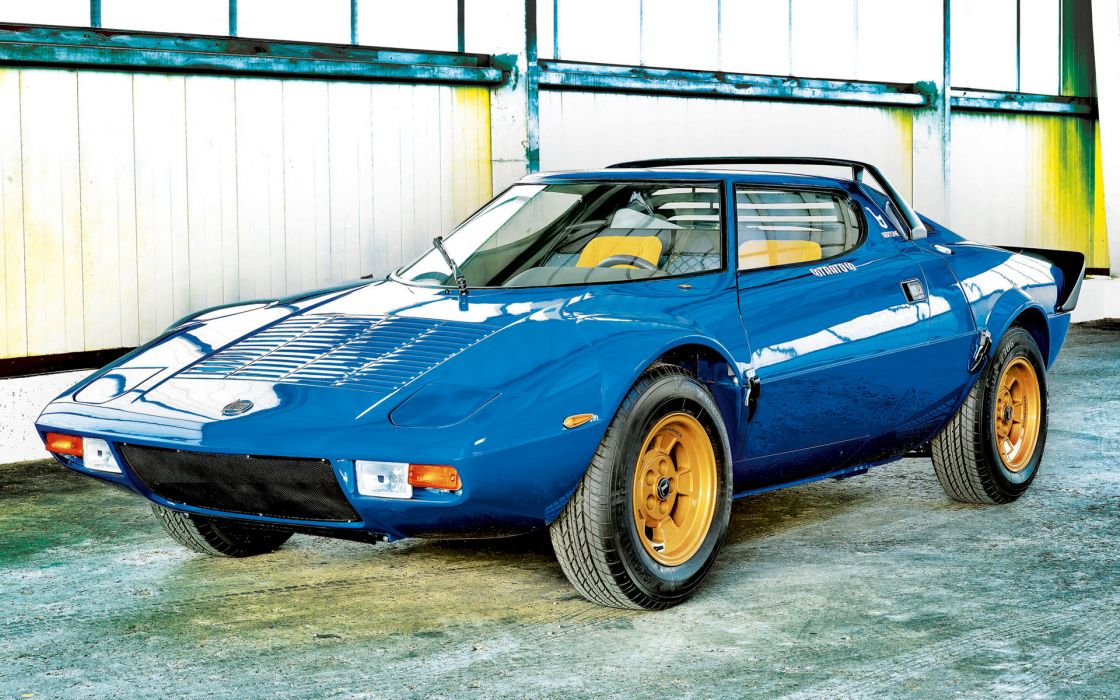 1973 Lancia Stratos HF supercar supercars wallpaper
