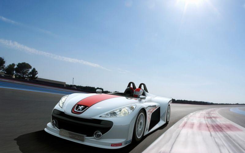 2006 Peugeot 207 Spider race racing g wallpaper