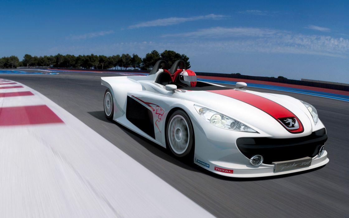 2006 Peugeot 207 Spider race racing wallpaper