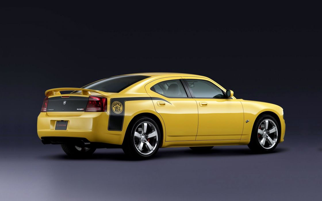 2007 Dodge Charger SRT8 Super Bee muscle    f wallpaper