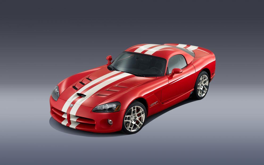 2008 Dodge Viper SRT10 Coupe supercar supercars wallpaper
