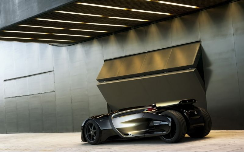 2010 Peugeot EX1 Concept wallpaper