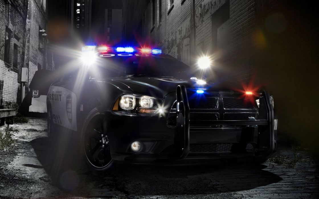 2011 Dodge Charger Pursuit police muscle      f wallpaper