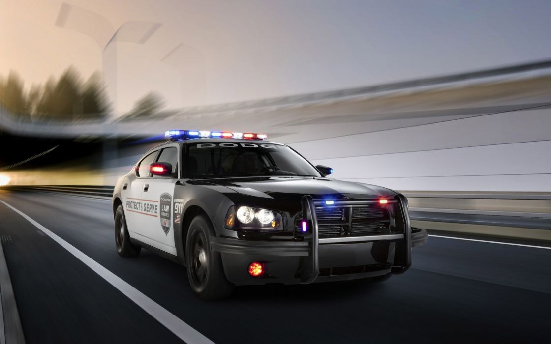 2011 Dodge Charger Pursuit police muscle wallpaper