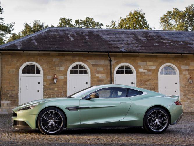 2012 Aston Martin Vanquish UK sportcar ff wallpaper