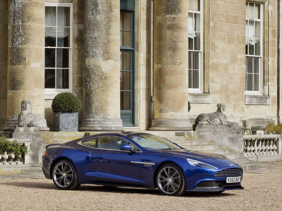 2012 Aston Martin Vanquish UK sportcar     r wallpaper