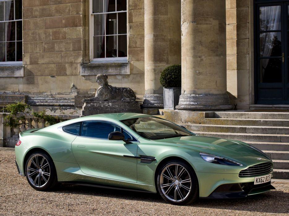 2012 Aston Martin Vanquish UK sportcar    f wallpaper