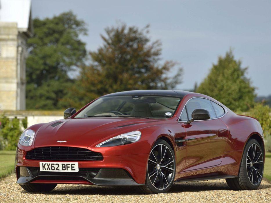 2012 Aston Martin Vanquish UK sportcar e wallpaper