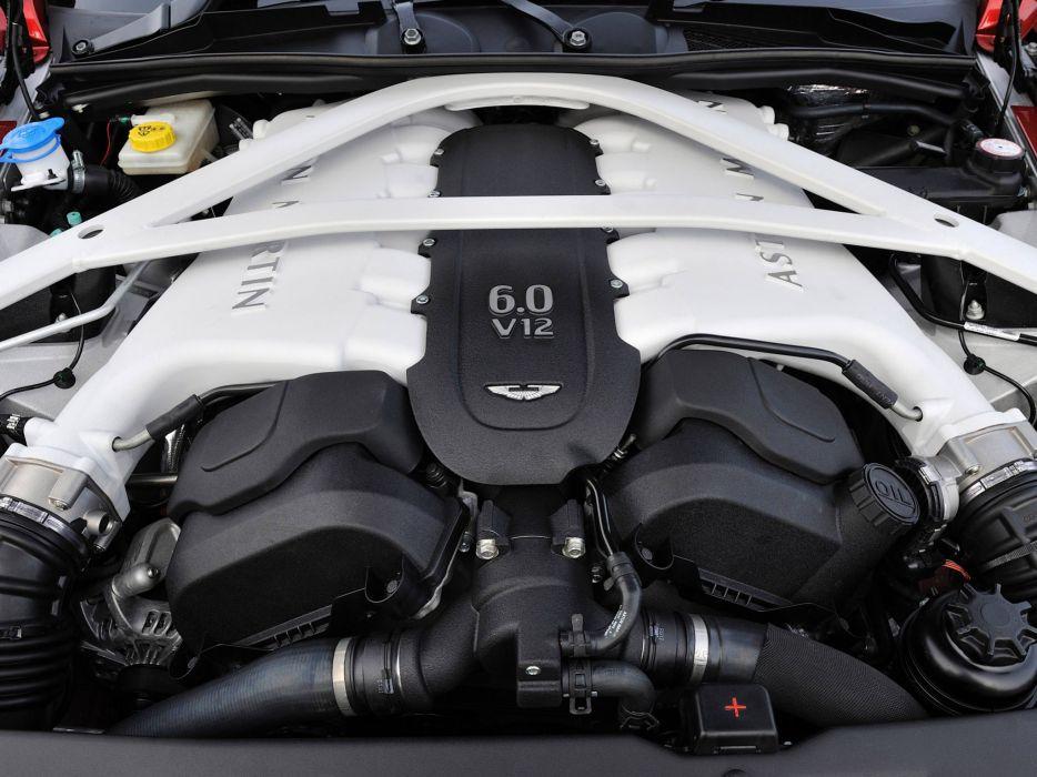 2012 Aston Martin Vanquish UK sportcar engine engines      g wallpaper