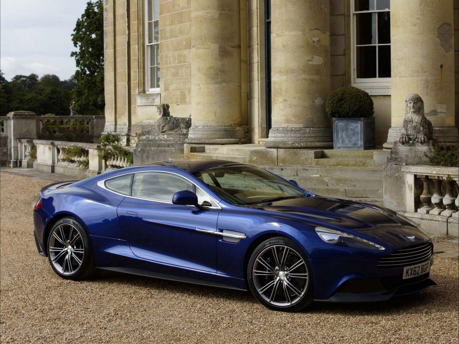 2012 Aston Martin Vanquish UK sportcar q wallpaper