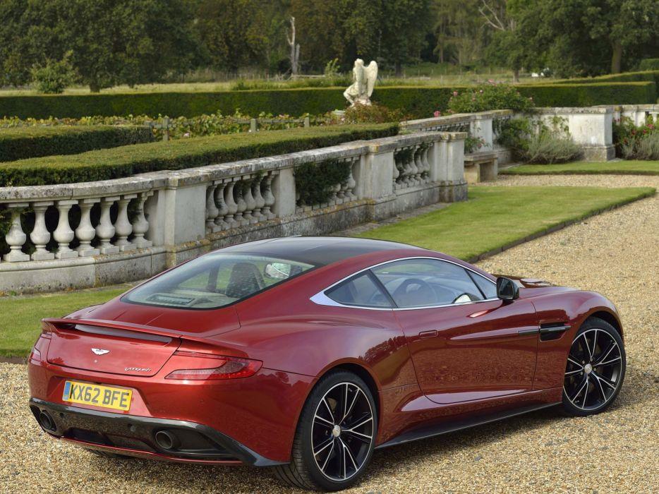 2012 Aston Martin Vanquish UK sportcar w wallpaper