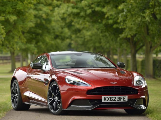 2012 Aston Martin Vanquish UK sportcar wallpaper