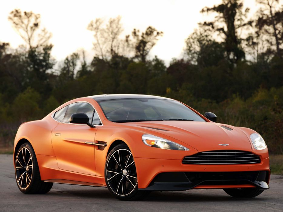 2012 Aston Martin Vanquish USA sportcar h wallpaper