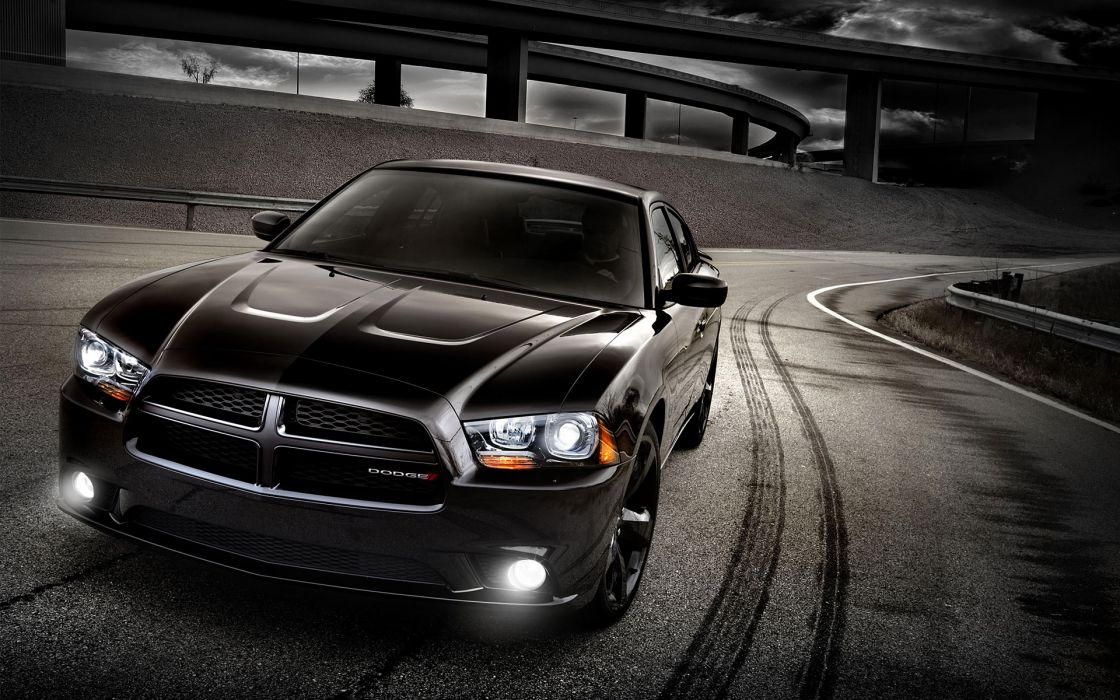 2012 Dodge Charger Blacktop muscle       f wallpaper