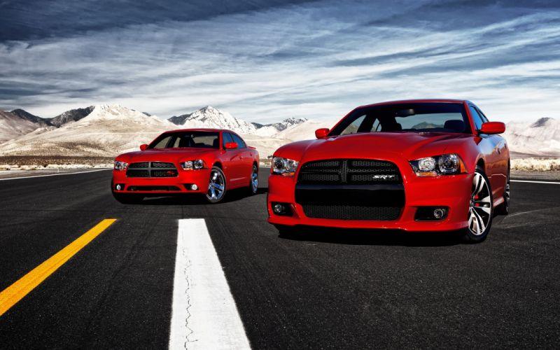 2012 Dodge Charger SRT8 muscle wallpaper