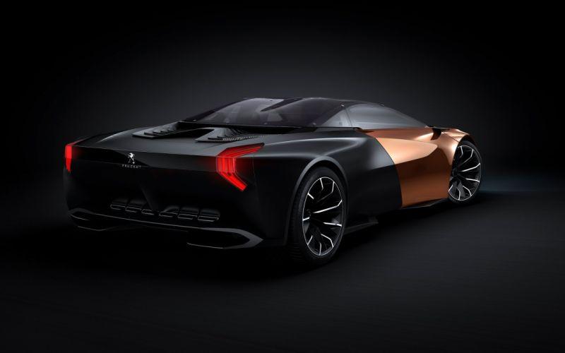 2012 Peugeot Onyx Concept supercars supercar g wallpaper