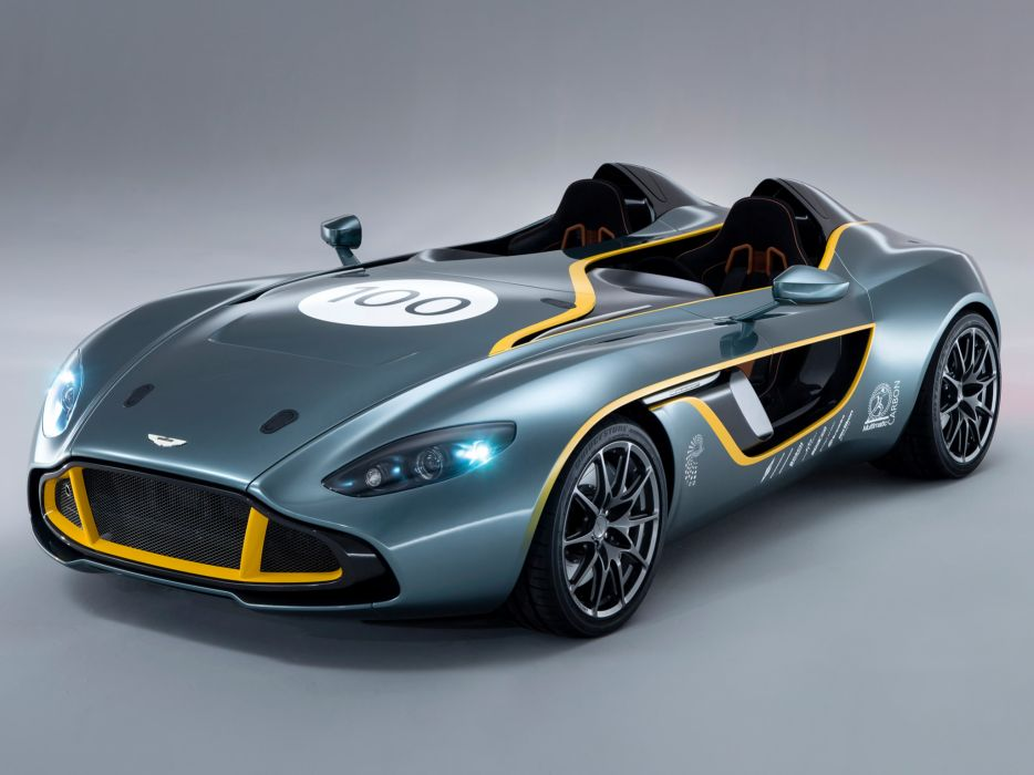 2013 Aston Martin CC100 Speedster Concept race racing supercar supercars        g wallpaper